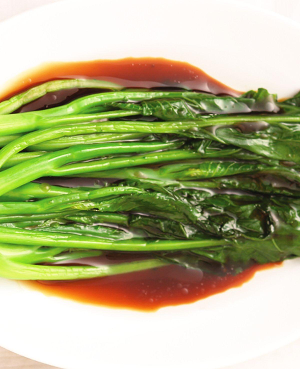 食譜:蠔油芥蘭(2)