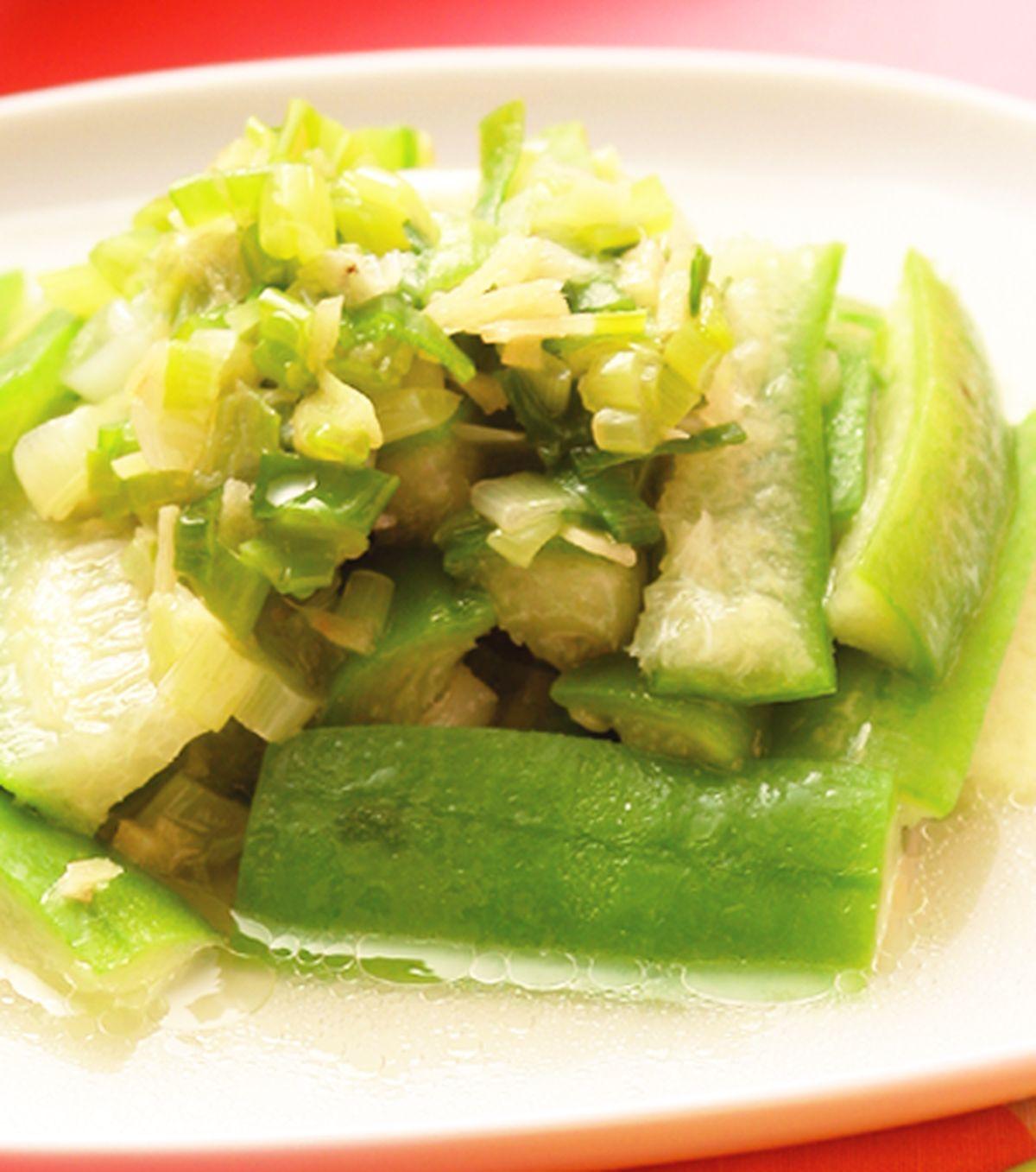 食譜:香蔥絲瓜