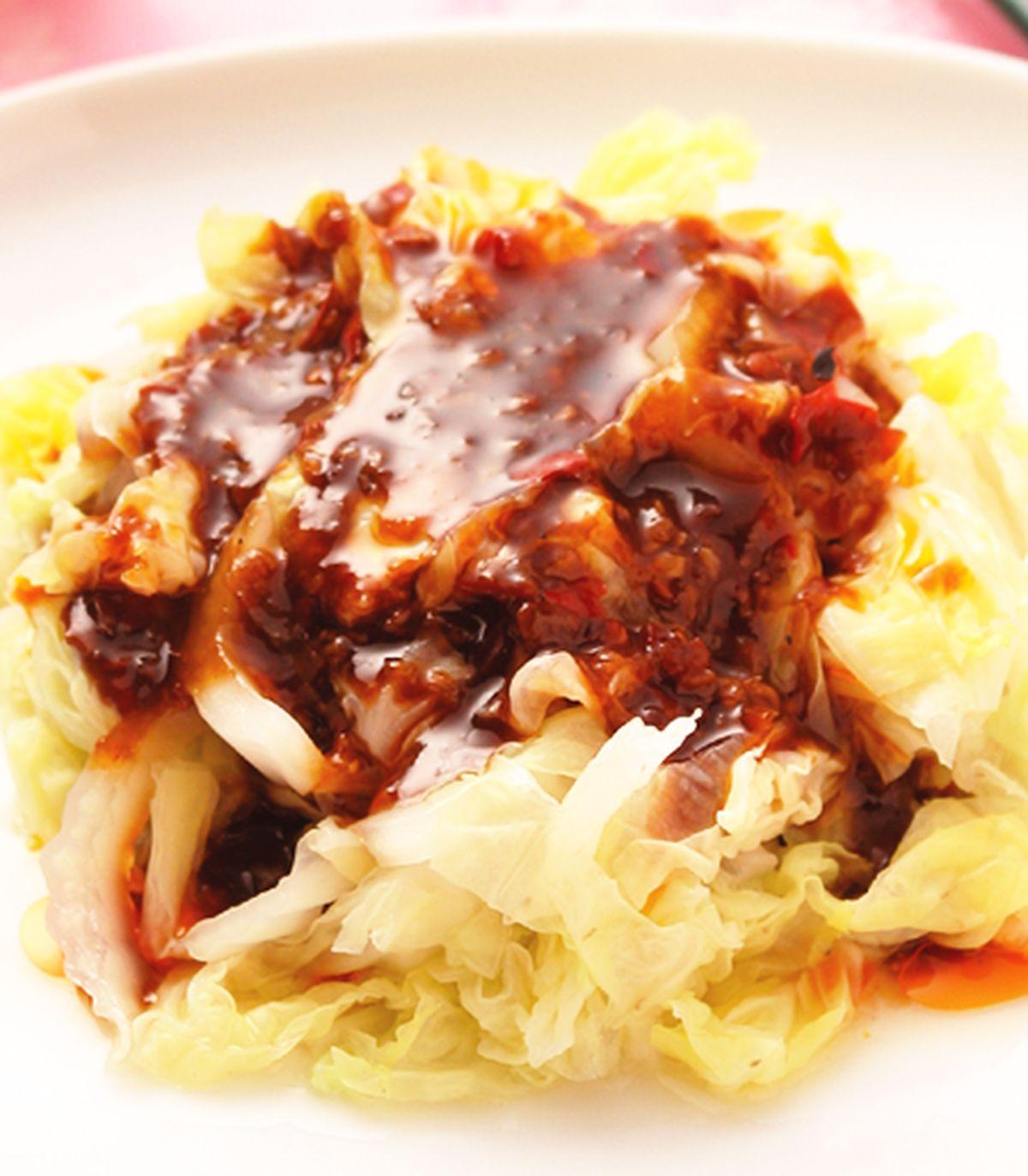 食譜:辣醬大白菜