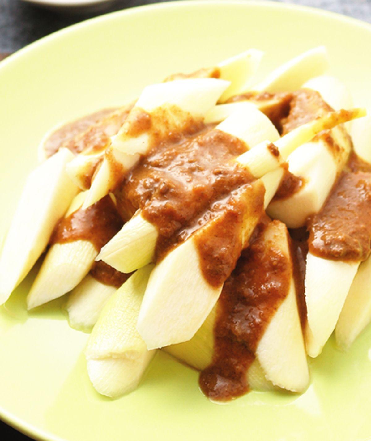 食譜:麻醬筊白筍