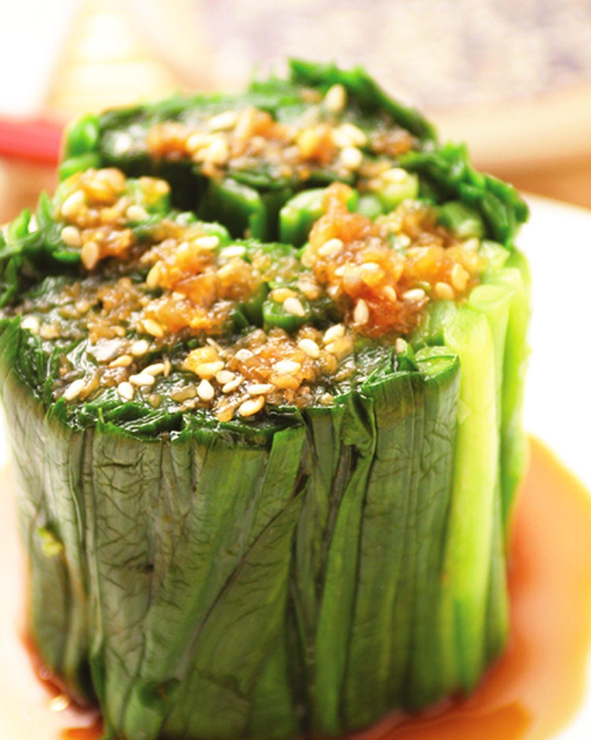 食譜:白灼韭菜