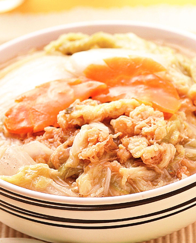 食譜:蛋酥滷白菜
