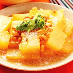 豆醬滷冬瓜
