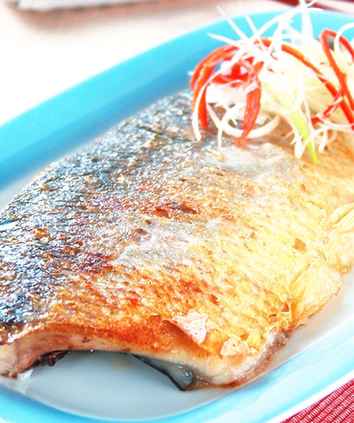 食譜:鹽烤虱目魚