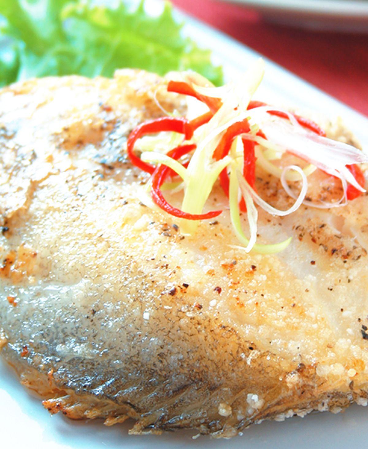 食譜:乾煎鱈魚