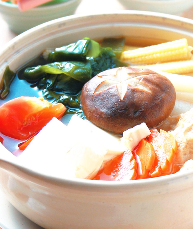 食譜:什錦素菜鍋