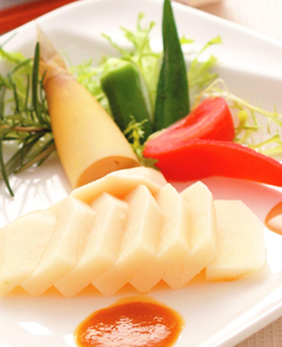 食譜:和風春筍佐芝麻味噌醬