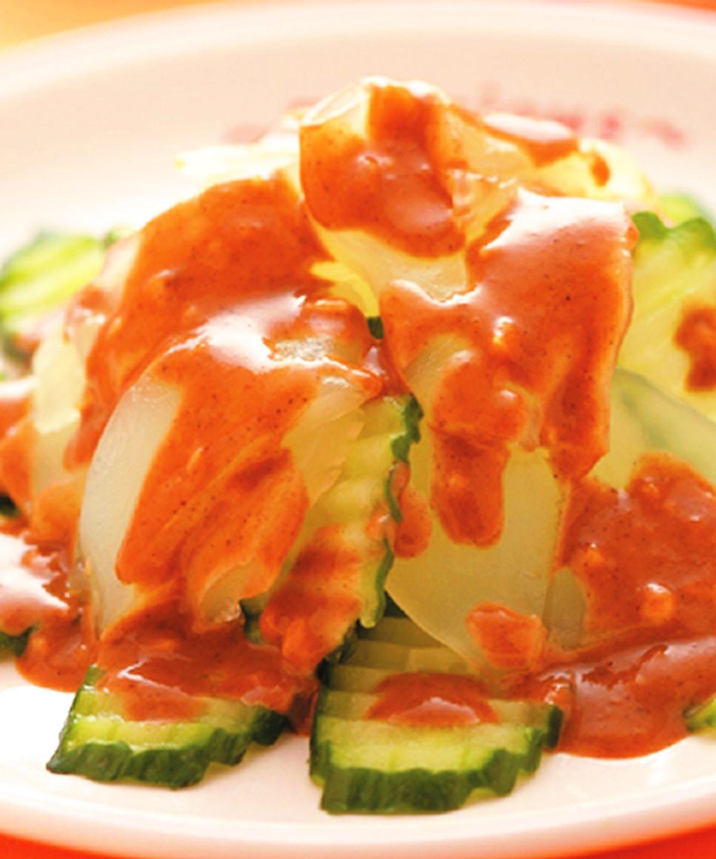 食譜:麻醬粉皮黃瓜