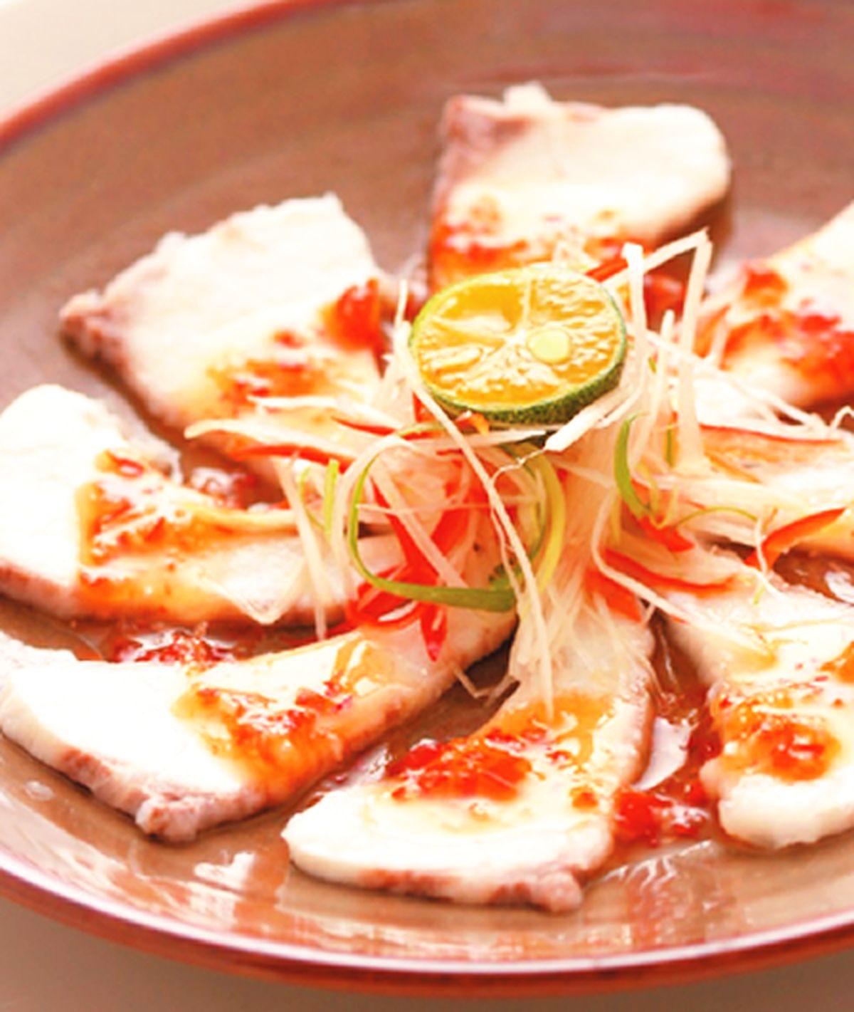 食譜:酸辣海鱺魚片