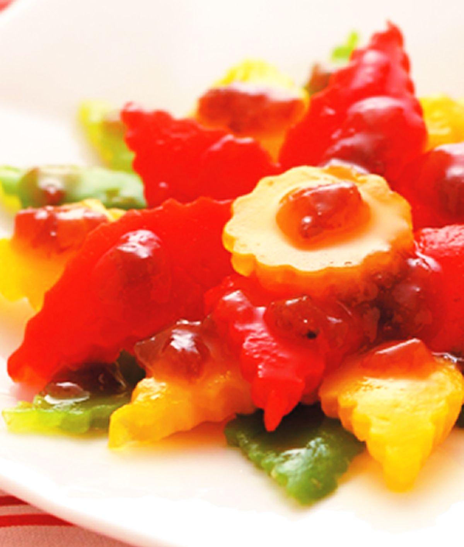 食譜:梅醬彩椒