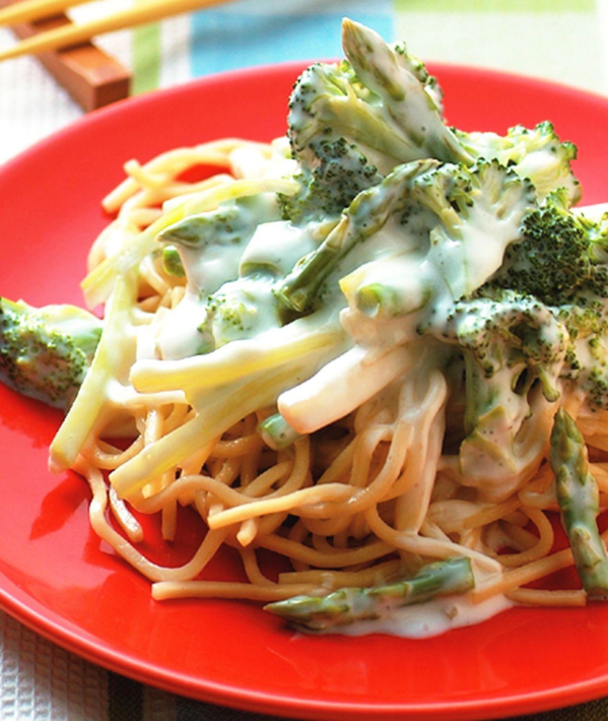 食譜:優格青蔬涼麵