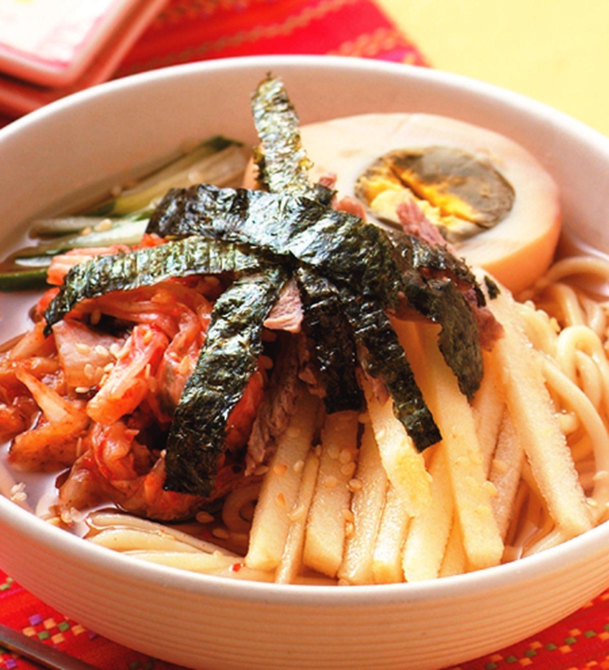 食譜:朝鮮冷麵