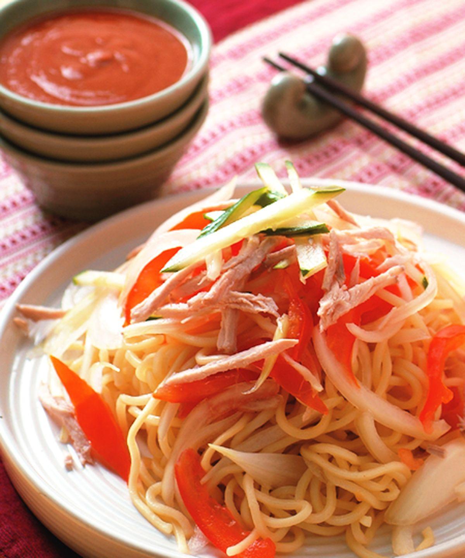 食譜:泰式酸辣醬涼麵