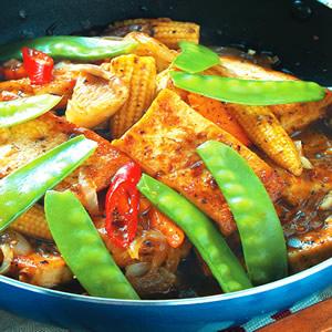 鐵板豆腐(4)