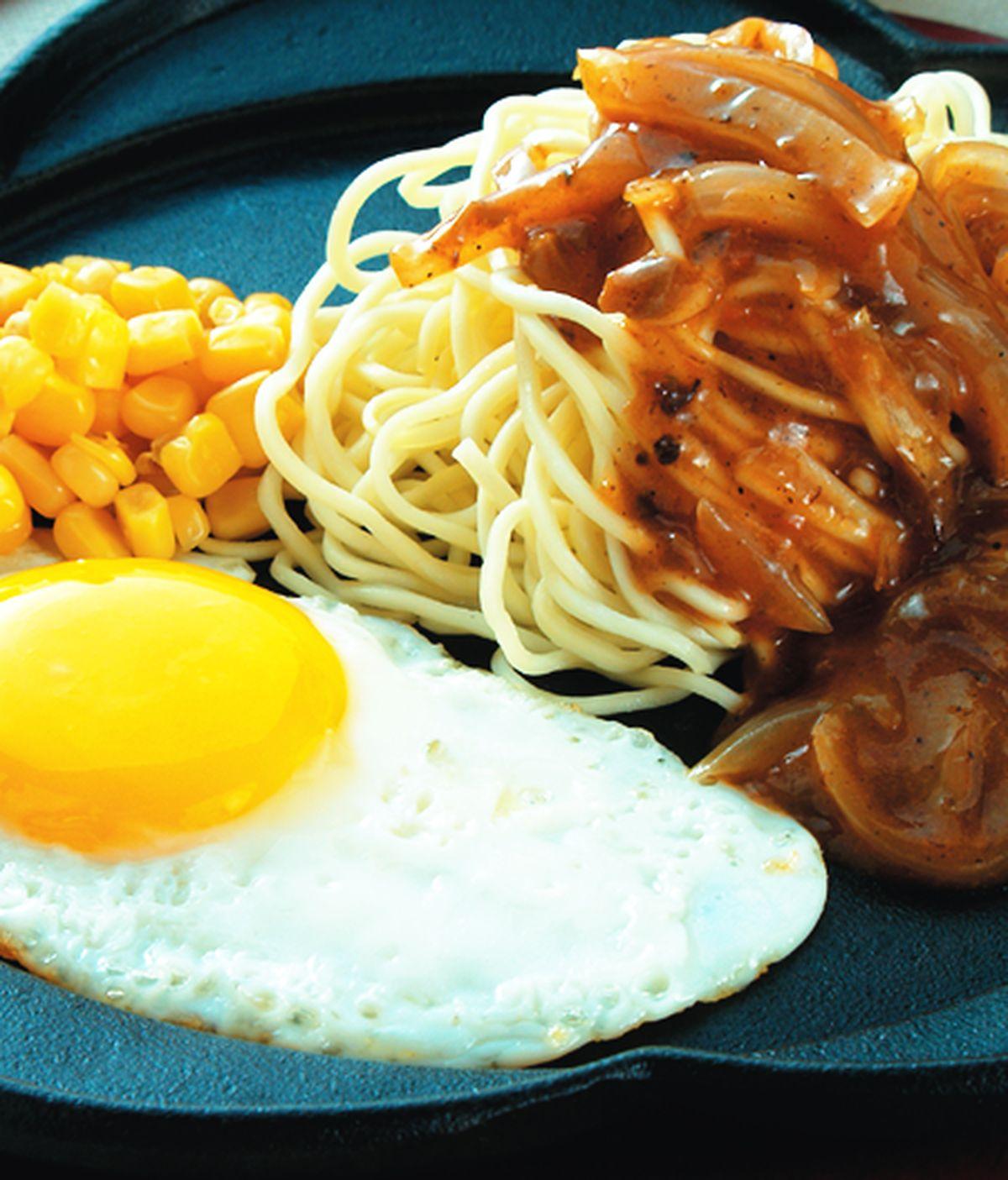 食譜:鐵板麵