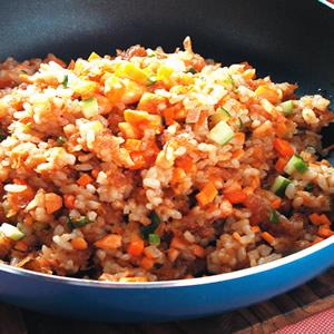 鮭魚炒飯(3)