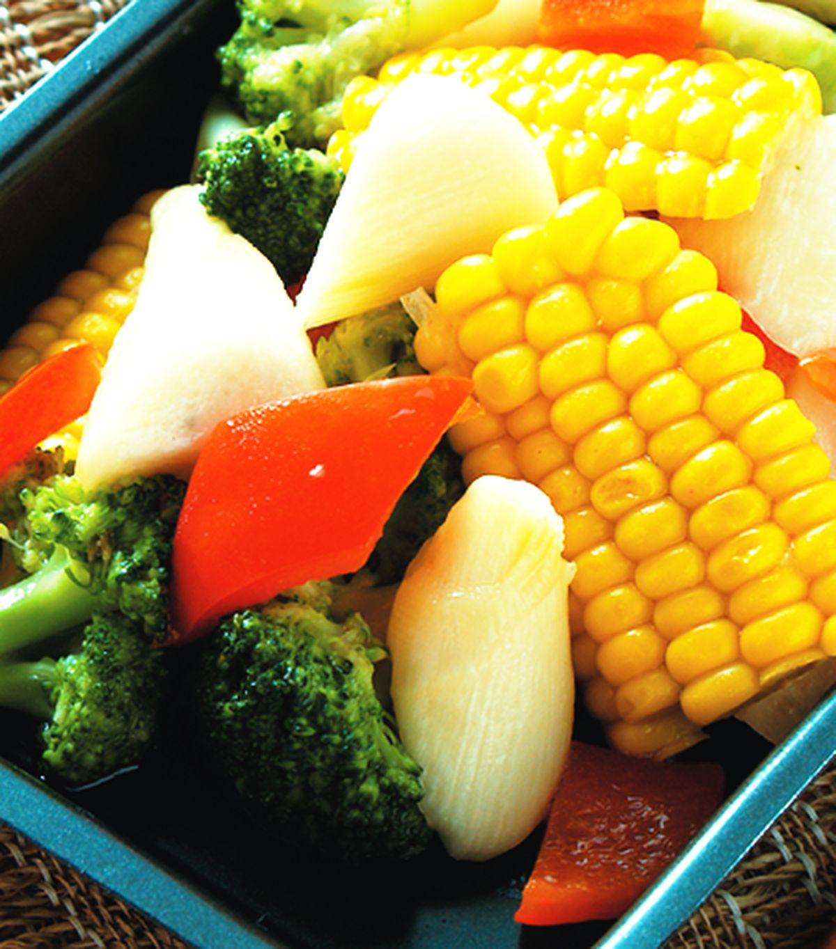 食譜:鐵板青蔬