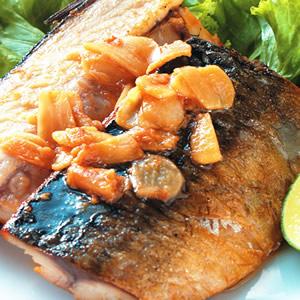 香蒜青花魚