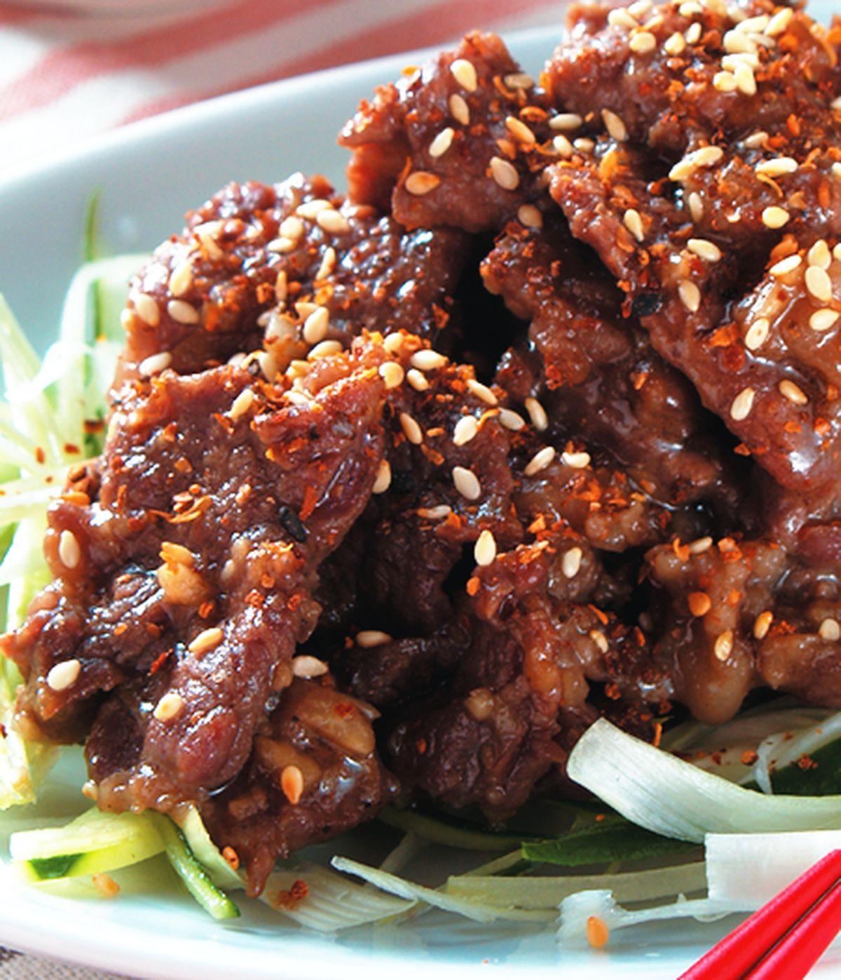 食譜:薑燒牛肉