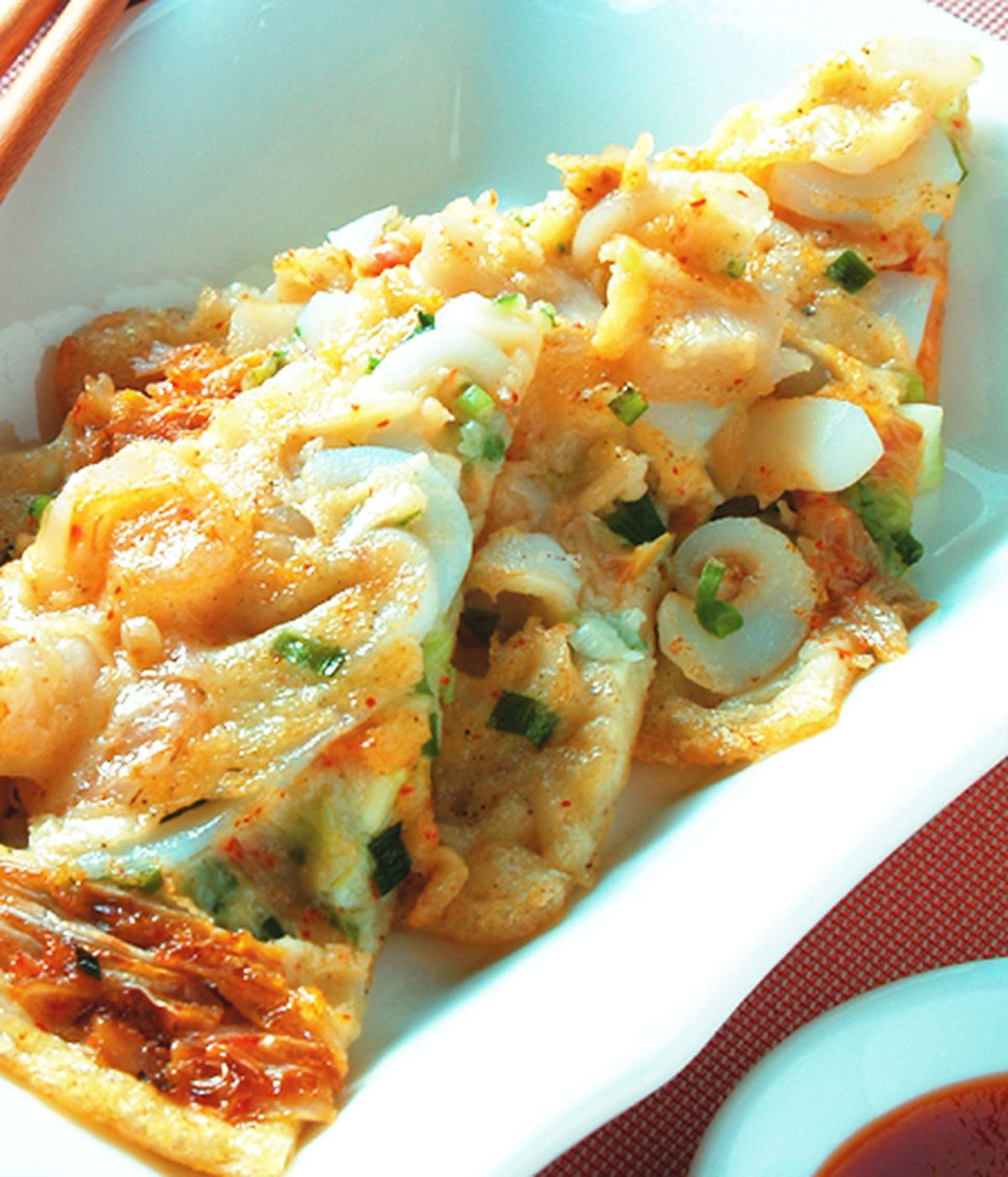 食譜:海鮮泡菜煎餅