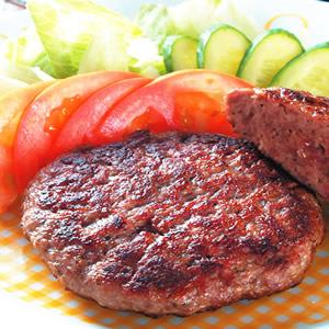 傳統牛肉漢堡肉餅