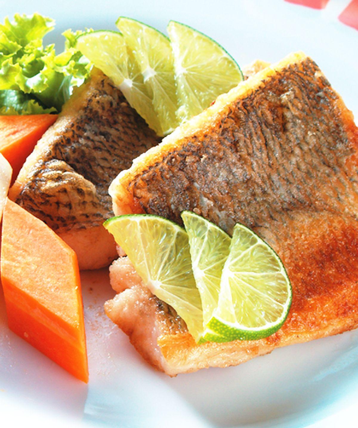 食譜:香煎鱸魚片