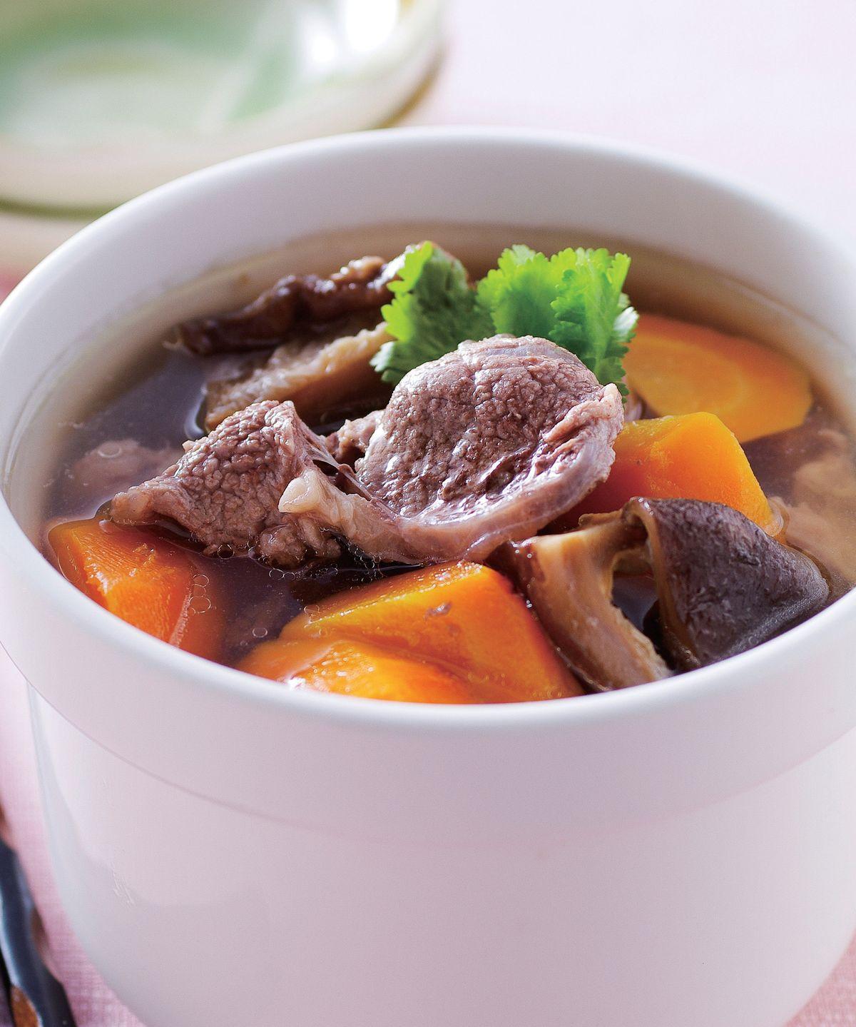 食譜:香菇蘿蔔牛肉湯