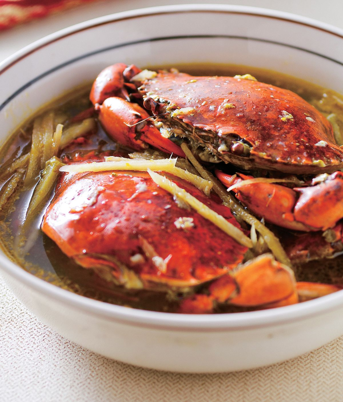 食譜:茶油螃蟹