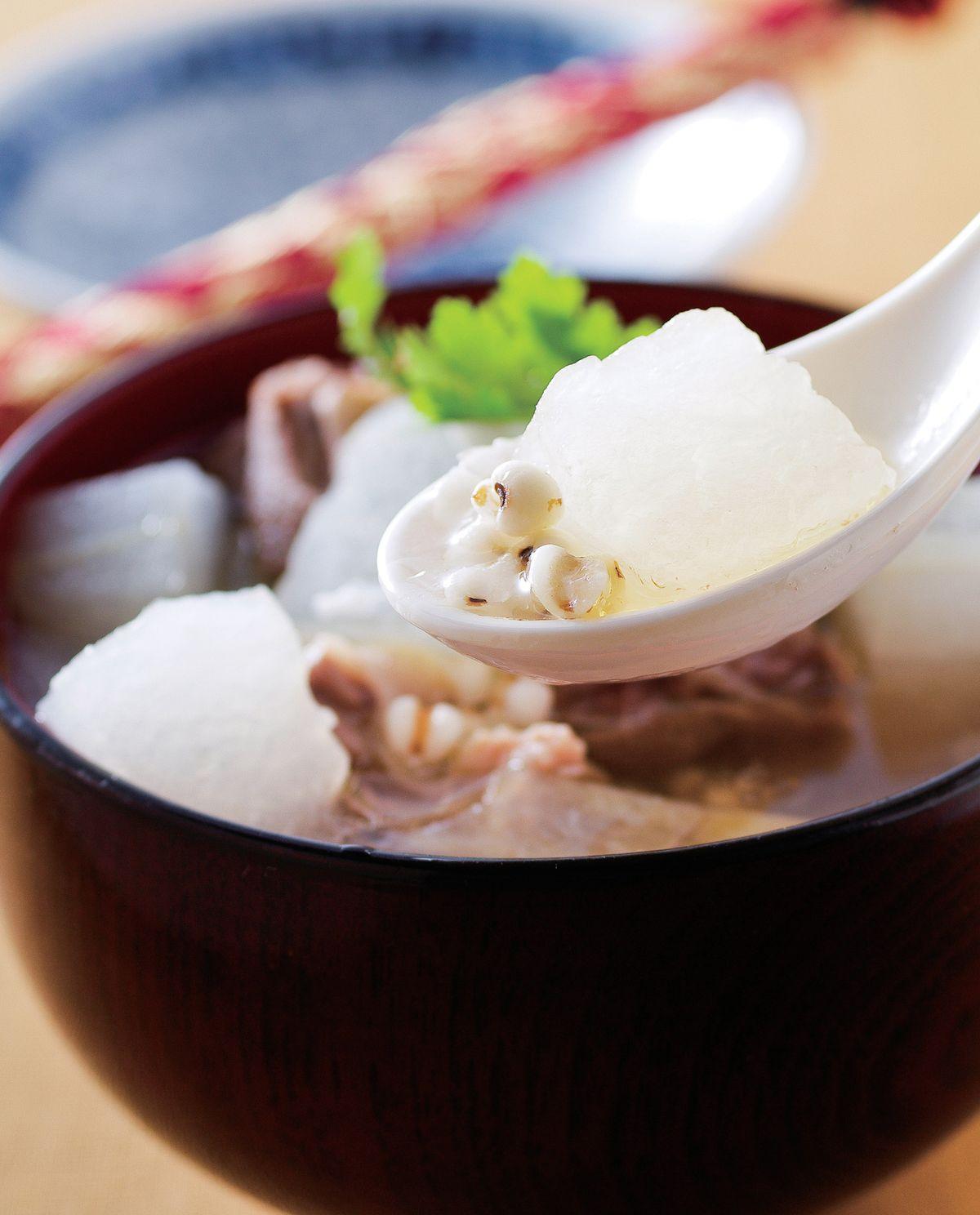 食譜:冬瓜薏仁炖老鴨