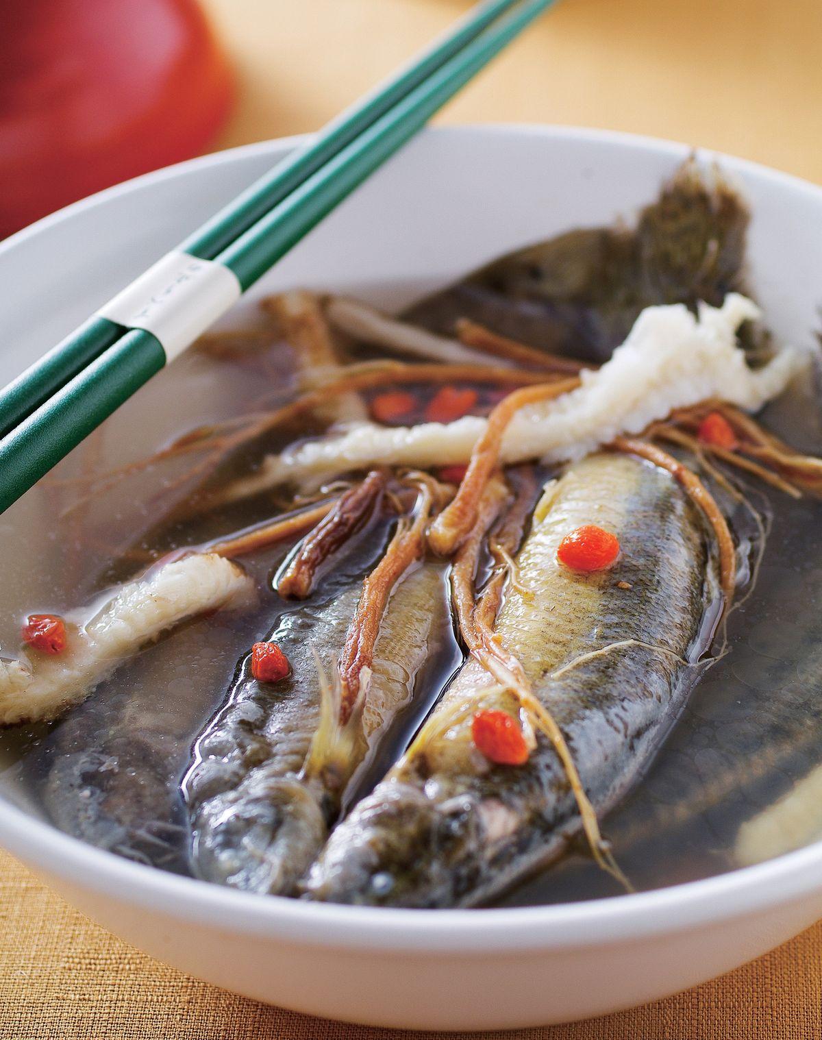 食譜:燒酒泥鰍湯