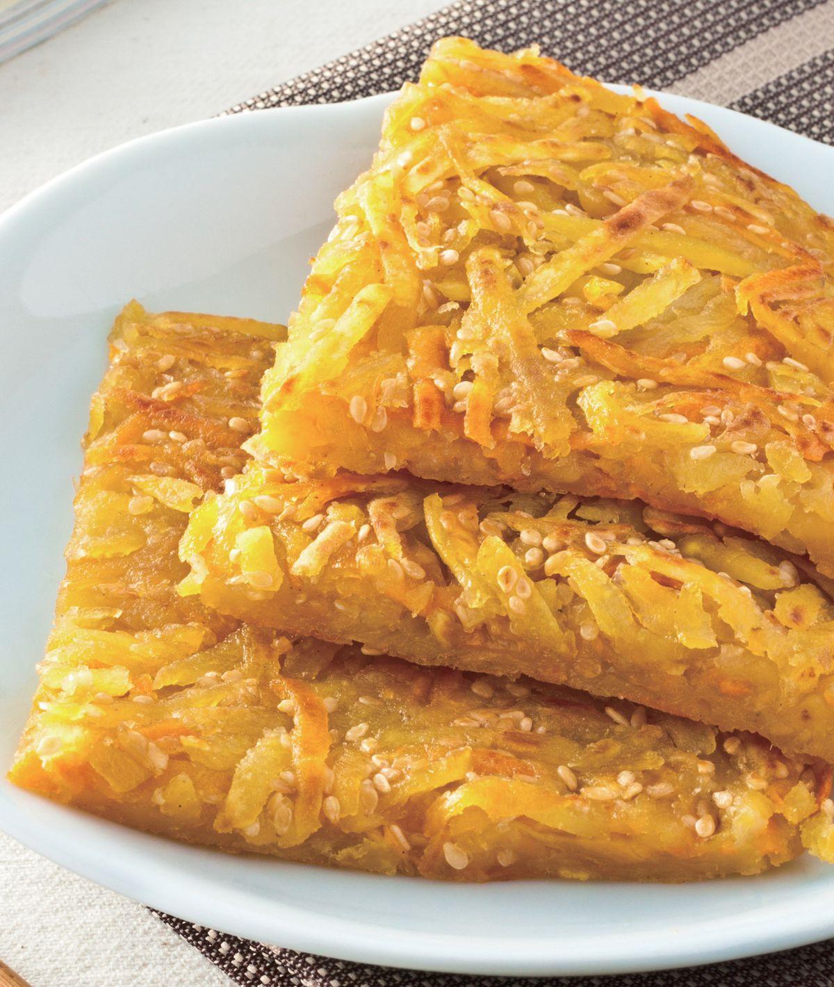 食譜:地瓜簽餅