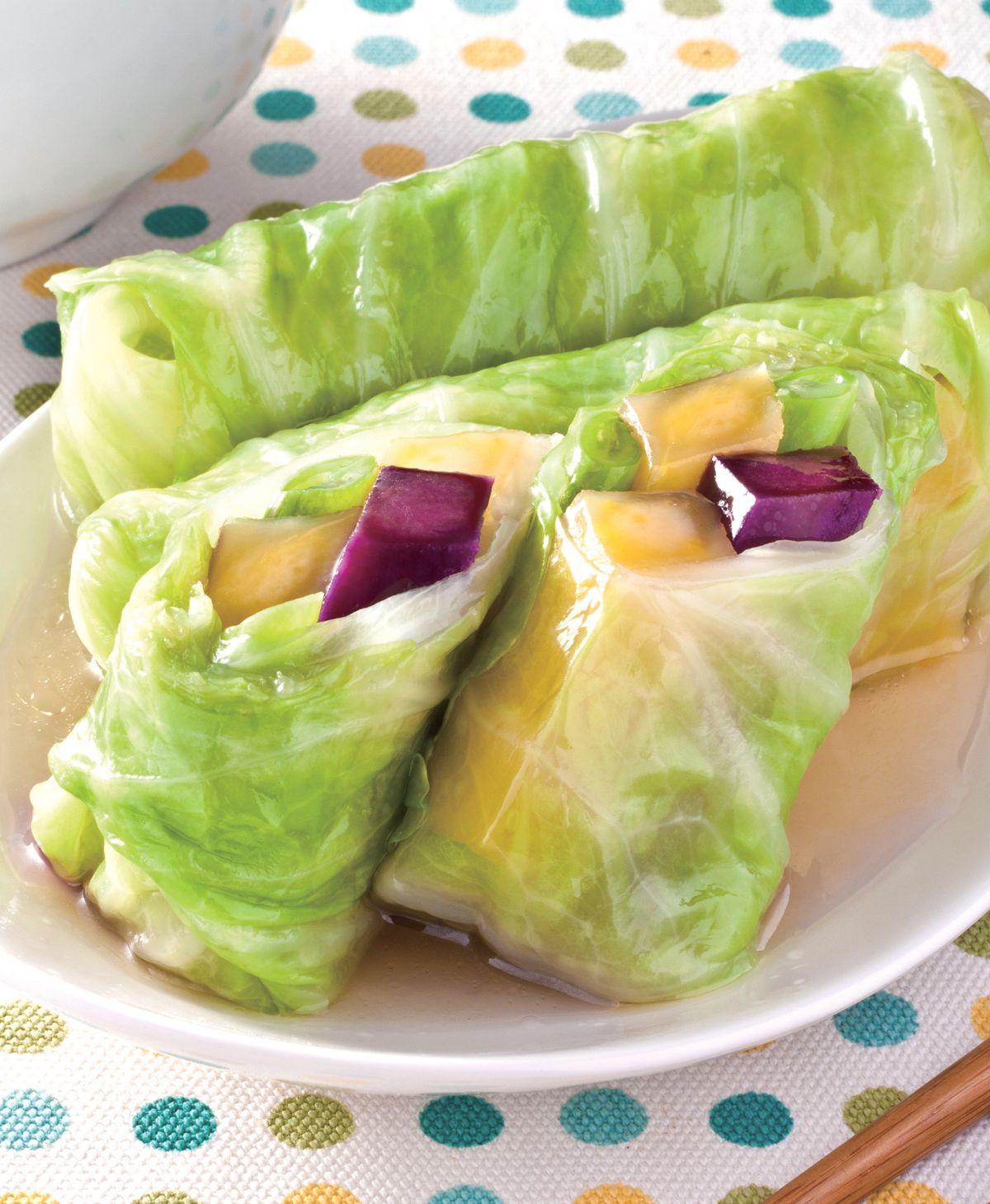 食譜:蔬菜地瓜卷