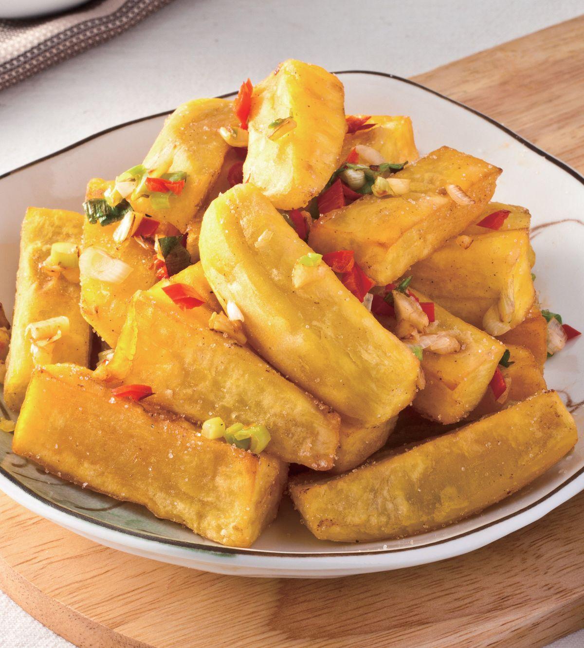 食譜:椒鹽地瓜