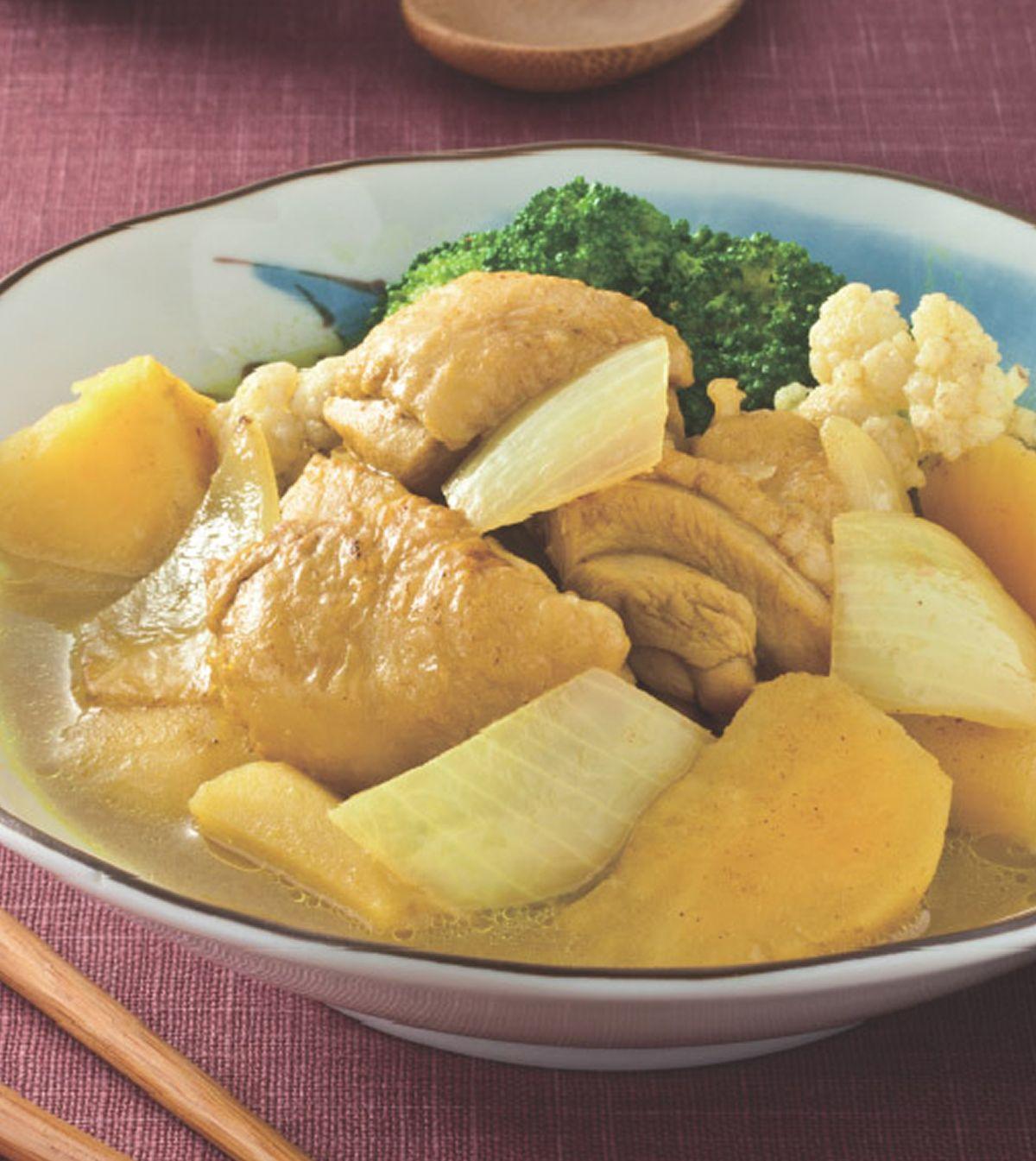 食譜:地瓜咖哩雞肉