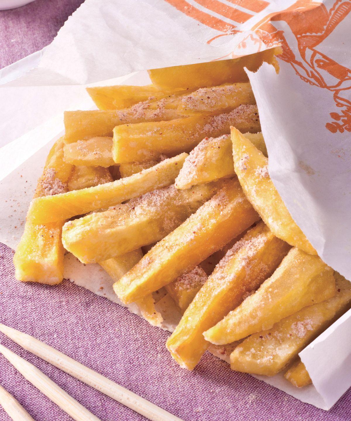 食譜:梅粉薯條