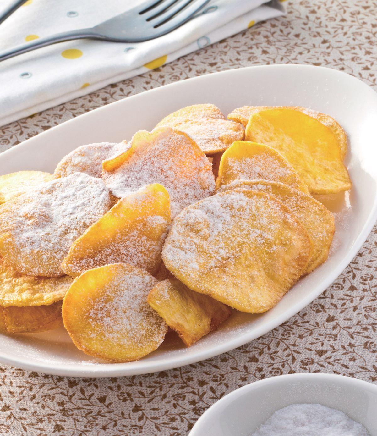 食譜:薄餅薯片
