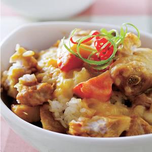 咖哩芋頭雞焗飯