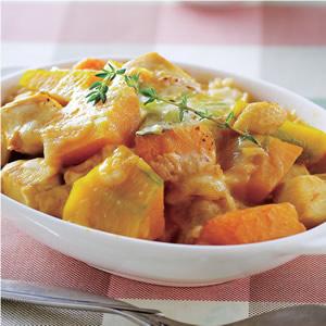 南瓜雞肉焗飯(1)