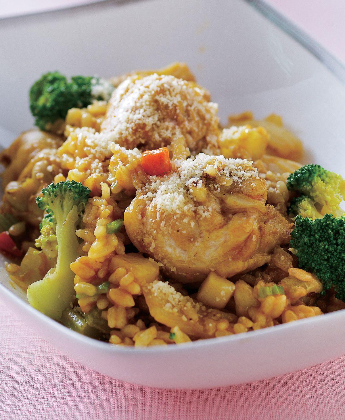 食譜:咖哩雞腿燉飯