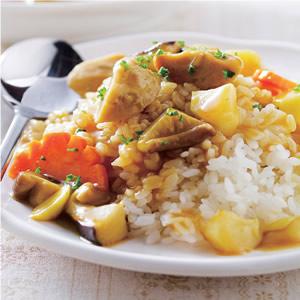 咖哩貢丸燴飯