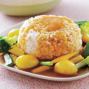 咖哩黃金蛋燴飯