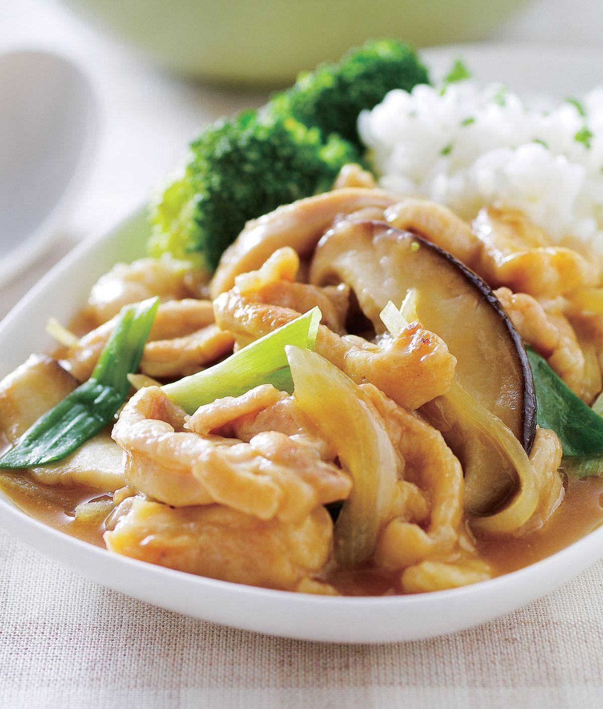 食譜:嫩雞咖哩燴飯