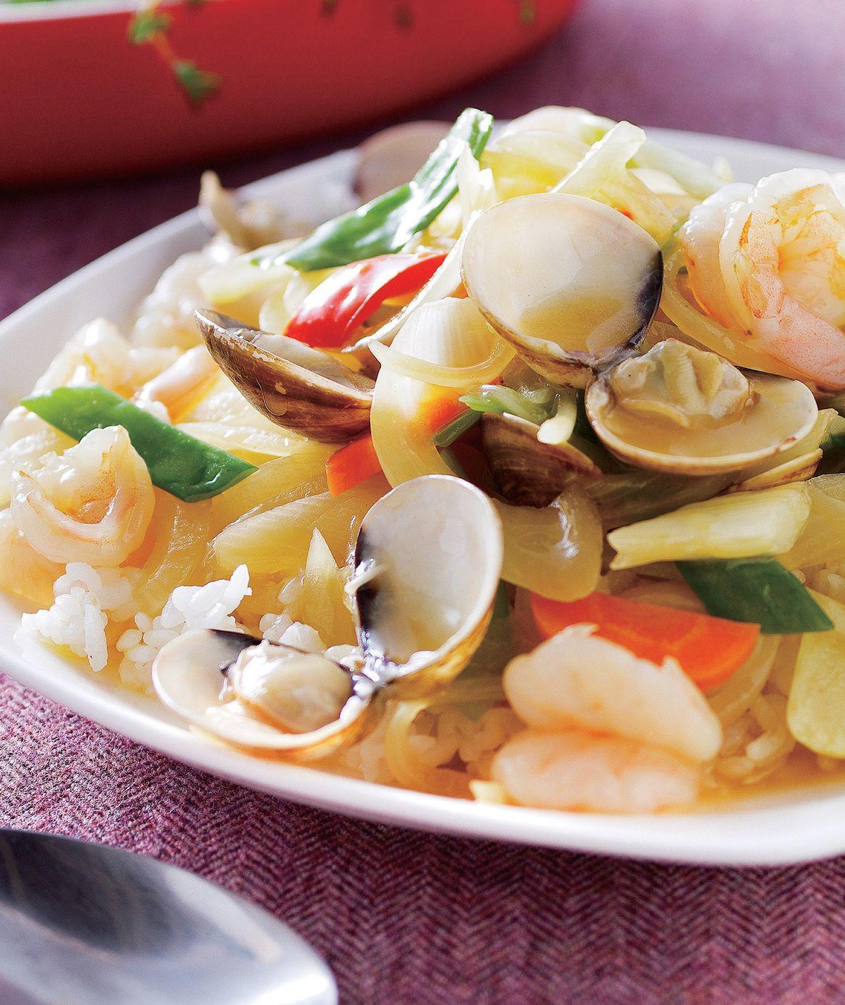 食譜:咖哩海鮮燴飯