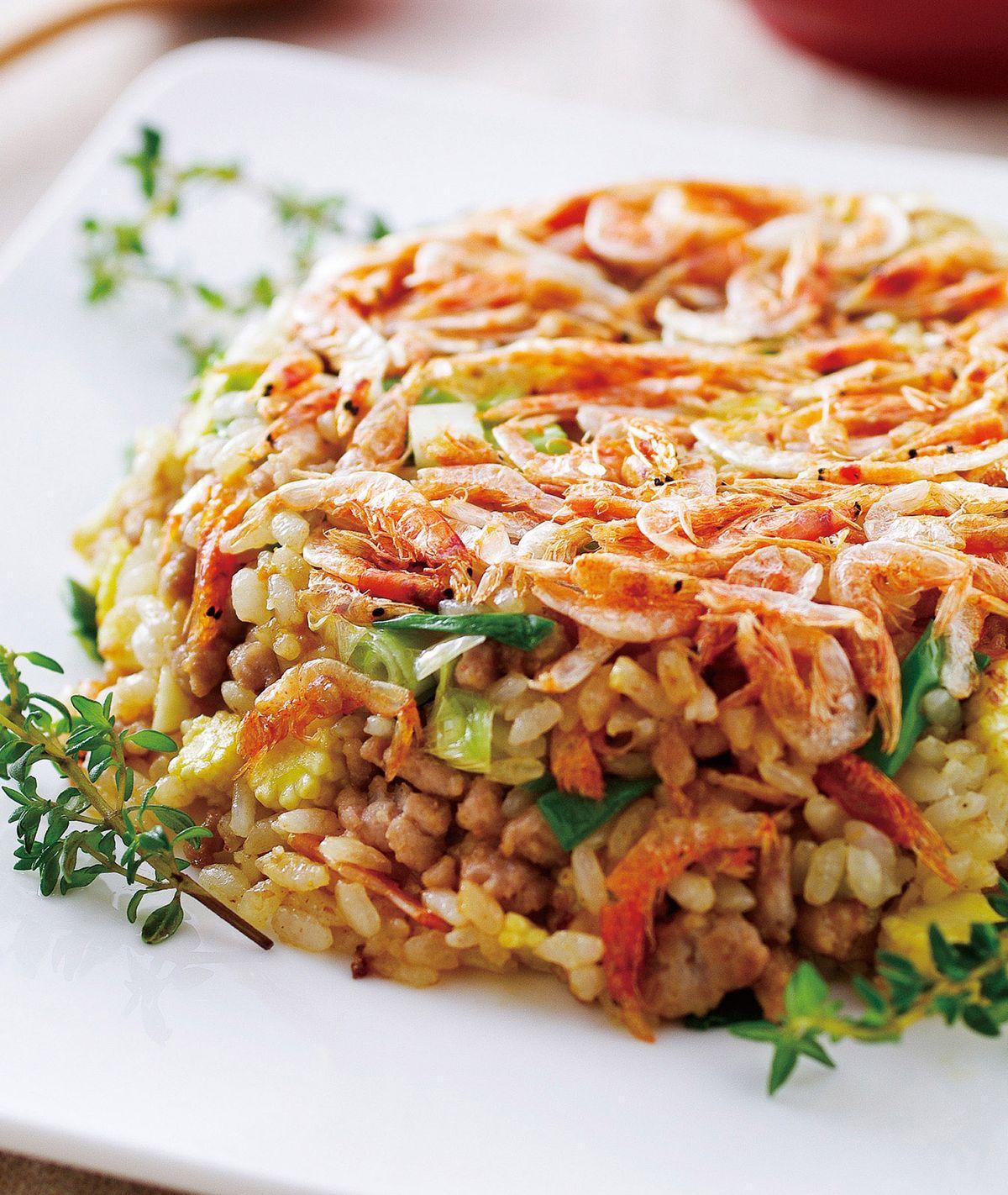食譜:櫻花蝦咖哩炒飯