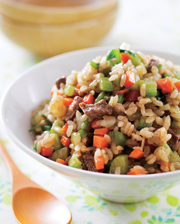 食譜:牛肉西芹炒飯