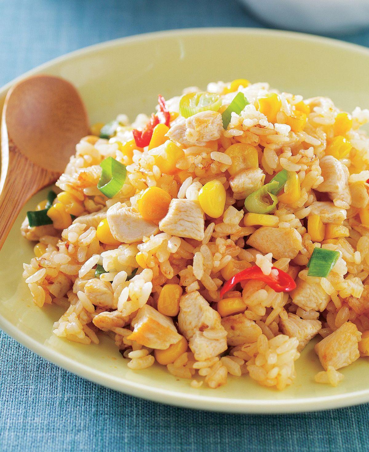食譜:酸辣雞粒炒飯