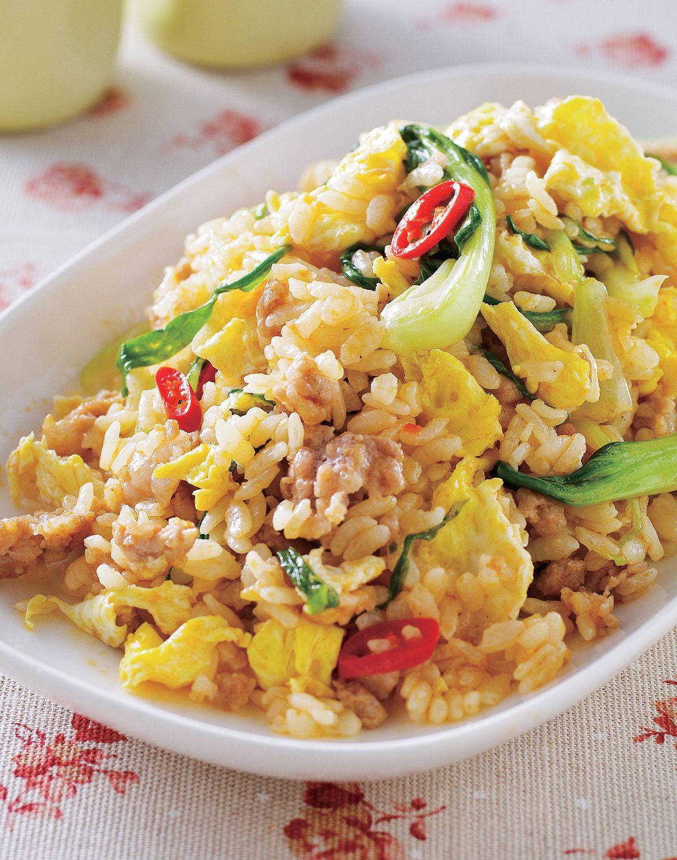食譜:蔬菜酸辣蛋炒飯