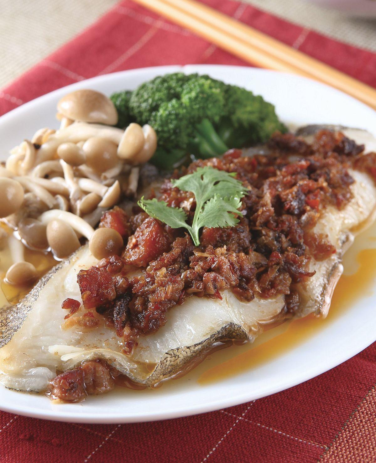 食譜:Xo醬蒸鱈魚(1)