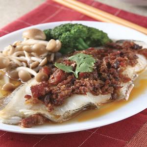Xo醬蒸鱈魚(1)