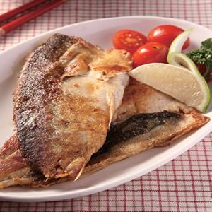 檸香煎虱目魚